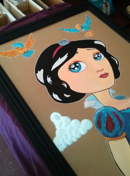 blanche-neige-art-craft