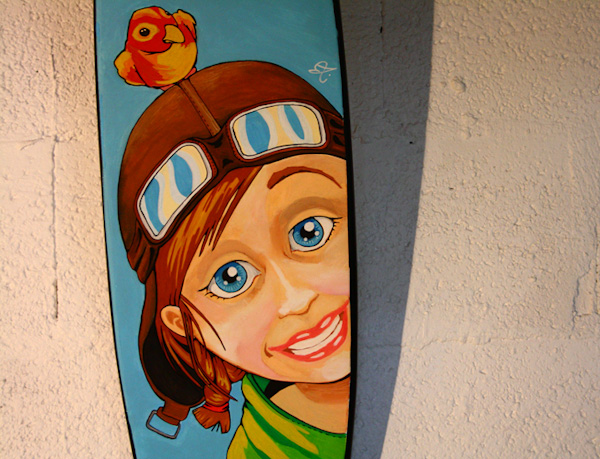 skate dessin custom