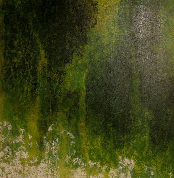 matiere vert toile